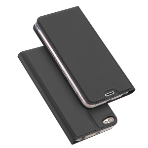 DUX DUCIS Skin Pro Series Card Slot Stand Leather Case for Xiaomi Redmi Note 5A Prime - Grey