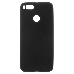 Frosted TPU Shell Case for Xiaomi Mi A1 / 5X - Black