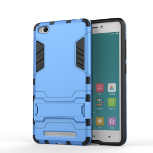 Cool Plastic + TPU Shell Case Cover for Xiaomi Redmi 3 - Baby Blue