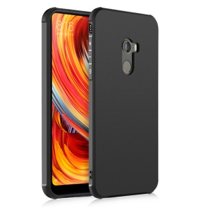 Wrapped Edges Drop-proof TPU Back Mobile Cover for Xiaomi Mi Mix 2 - Black