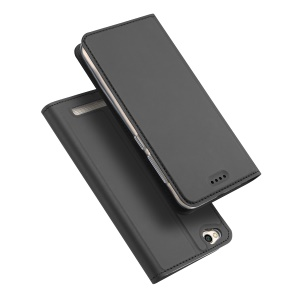 DUX DUCIS Skin Pro Series Leather Card Holder Case for Xiaomi Redmi 5A - Grey