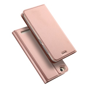 DUX DUCIS Skin Pro Series Leather Card Holder Cover for Xiaomi Redmi 5A - Rose Gold