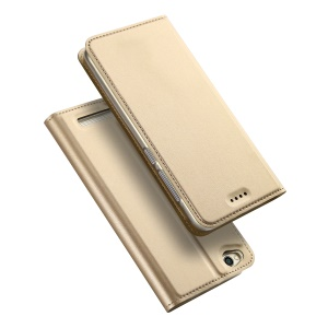 DUX DUCIS Skin Pro Series Leather Case with Card Slot for Xiaomi Redmi 5A - Gold