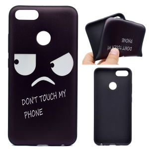 Patterned Printing TPU Soft Back Case for Xiaomi Mi A1 / 5X - Angry Face
