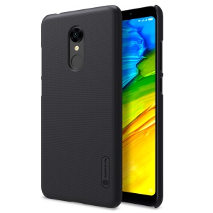 NILLKIN Super Frosted Shield PC Phone Cover for Xiaomi Redmi 5 - Black