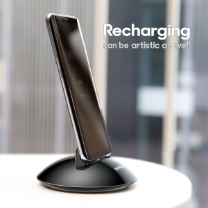 BASEUS Northern Hemisphere Type C Desktop Vertical Charging Station for Samsung LG etc - Black