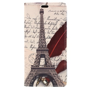 Eiffel Tower and Quill