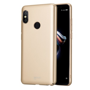 LENUO Leshield Series Silky Touch Light Thin PC Cover for Xiaomi Redmi Note 5 Pro (Dual Camera) / Redmi Note 5 (China) - Gold
