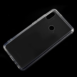 Crystal Clear Acrylic + Flexible TPU Hybrid Back Case for Xiaomi Redmi Note 5 Pro (Dual Camera) / Redmi Note 5 (China)