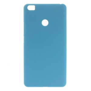 Rubberized Glossy Plastic Hard Phone Case for Xiaomi Mi Max - Baby Blue