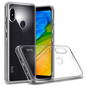 IMAK Anti-drop TPU Back Case + Screen Protector for Xiaomi Redmi Note 5 Pro (Dual Camera) / Redmi Note 5 (China)