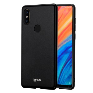 LENUO Leshield Series Silky Touch Hard Mobile Phone Case for Xiaomi Mi Mix 2s - Black