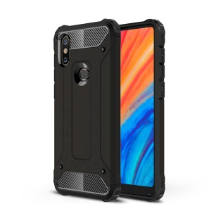 Armor Guard Plastic + TPU Hybrid Case for Xiaomi Mi Mix 2s - Black
