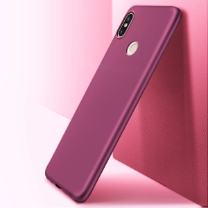X-LEVEL Guardian Serie Matt TPU Rückseite Für Xiaomi Redmi Note 5 (12MP Rückfahrkamera) / Redmi 5 Plus (china) - Weinrot