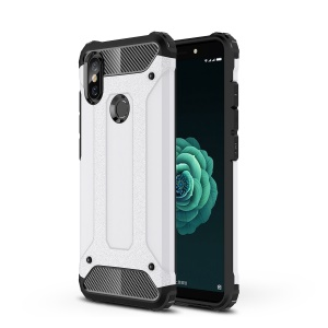 Armor Guard Plastic + TPU Hybrid Cover for Xiaomi Mi A2 / Mi 6X - White