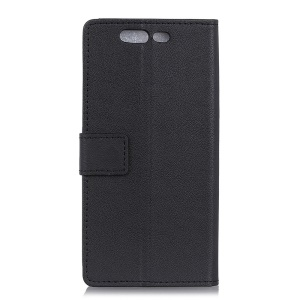 Flip Leather Wallet Stand Protective Phone Case for Xiaomi Black Shark - Black