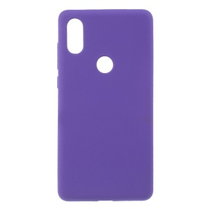 For Xiaomi Mi Mix 2s Double-sided Matte Flexible TPU Cellphone Shell - Purple