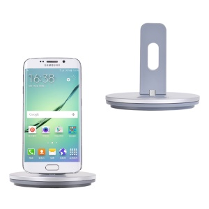 HOCO CW1 Micro USB Dock Station Charging Holder for Samsung Sony Huawei - Silver