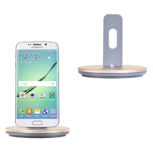 HOCO CW1 Multifunctional Micro USB Dock Charger Holder for Samsung Sony Huawei - Gold