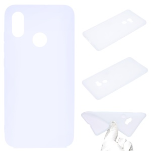 For Xiaomi Mi 8 SE (5.88-inch) Anti-fingerprint Matte TPU Case Cover - White
