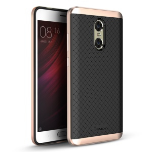 IPAKY PC Bumper + TPU Protection Shell for Xiaomi Redmi Pro - Rose Gold