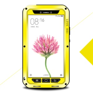 LOVE MEI Shockproof Dropproof Dustproof Cover Case for Xiaomi Mi Max - Yellow