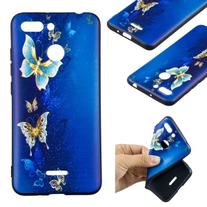 Blue and Gold Butterfly