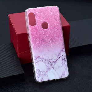 Pattern Printing TPU Case for Xiaomi Redmi 6 Pro - Marble Texture