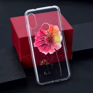 Pattern Printing TPU Cover for Xiaomi Redmi 6 Pro - Vivid Flower