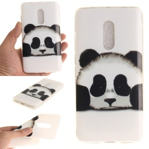 Soft TPU IMD Patterned Cover for Xiaomi Redmi Note 4 - Panda