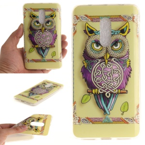 For Xiaomi Redmi Note 4 Soft TPU IMD Patterned Case - Colored Owl