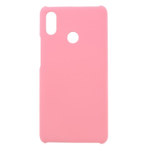 Rubberized PC Hard Mobile Phone Case for Xiaomi Mi Max 3 - Pink