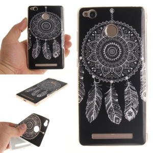 IMD Gel TPU Skin Cover for Xiaomi Redmi 3x - Tribal Dream Catcher
