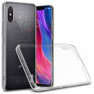 IMAK Crystal Case II Pro Scratch-resistant Clear PC Mobile Casing + Screen Protector Film for Xiaomi Mi 8 Explorer Edition