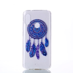 Pattern Printing TPU Cell Phone Case for Xiaomi Mi A2 Lite / Redmi 6 Pro - Dream Catcher
