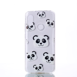 Pattern Printing TPU Flexible Case for Xiaomi Mi A2 Lite / Redmi 6 Pro - Panda Pattern