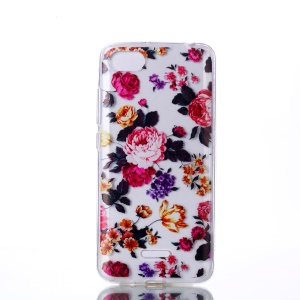 Pattern Printing TPU Case for Xiaomi Redmi 6A (Single 12MP Rear Camera) - Vivid Flowers