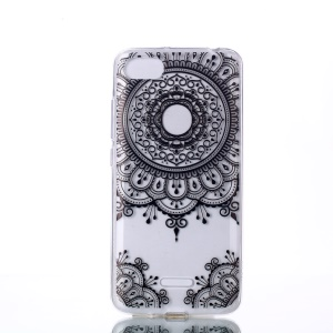 Pattern Printing TPU Shell Cover Case for Xiaomi Redmi 6A (Single 12MP Rear Camera) - Mandala Flowers