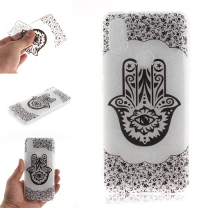 Pattern Printing IMD Soft TPU Case for Xiaomi Mi A2 / Mi 6X - Hamsa Hand of Fatima