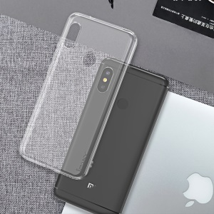 IPAKY HD Transparent Soft TPU Phone Cover for Xiaomi Mi A2 Lite / Redmi 6 Pro