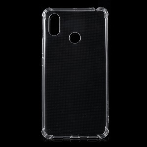 Drop-resistant Clear TPU Protection Case for Xiaomi Mi Max 3