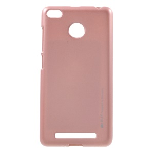MERCURY GOOSPERY i JELLY TPU Cover for Xiaomi Redmi 3 Pro - Rose Gold