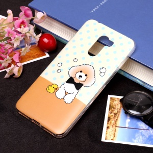 Pattern Printing Matte Surface IMD TPU Case for Xiaomi Pocophone F1 / Poco F1 in India - Dog