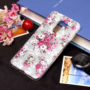 Pattern Printing Matte Surface IMD TPU Back Case for Xiaomi Pocophone F1 / Poco F1 in India - Vivid Flower