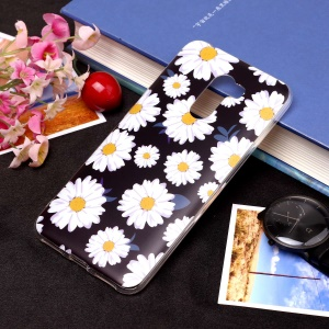 Pattern Printing Matte Surface IMD TPU Case Cover for Xiaomi Pocophone F1 / Poco F1 in India - Chrysanthemum