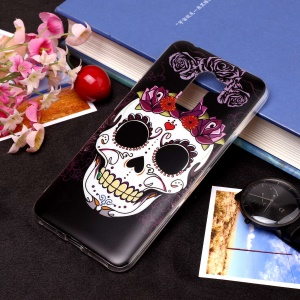 Pattern Printing Matte Surface IMD TPU Soft Case for Xiaomi Pocophone F1 / Poco F1 in India - Skull