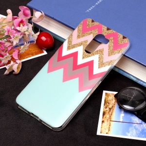 Pattern Printing Matte Surface IMD TPU Case Accessory for Xiaomi Pocophone F1 / Poco F1 in India - Twill