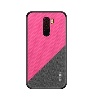 MOFI Honor Series Second Generation Anti-drop PU+PC+TPU Hybrid Cover for Xiaomi Pocophone F1/Poco F1 - Rose