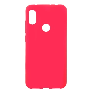 Skin-touch Matte TPU Back Phone Case for Xiaomi Redmi Note 6 Pro - Red