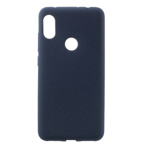 Skin-touch Matte TPU Soft Mobile Case for Xiaomi Redmi Note 6 Pro - Dark Blue